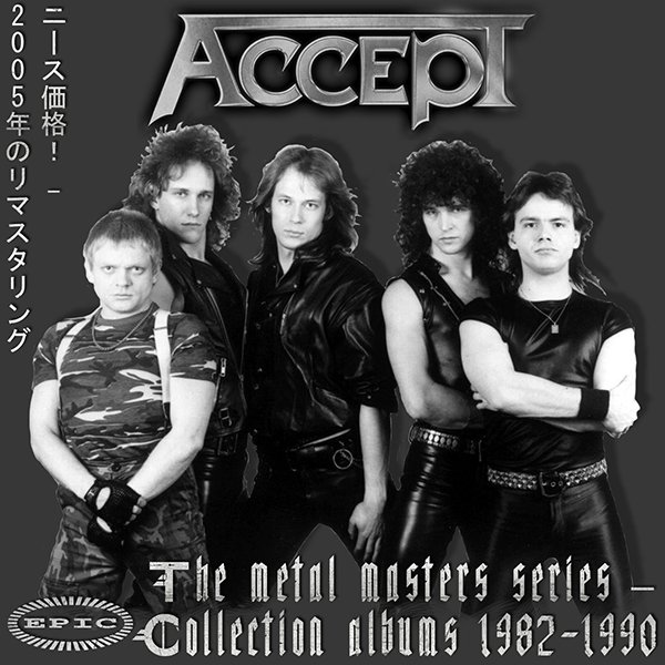 ACCEPT «The Metal Masters Series» – (8 x CD • Sony Music Japan • Remastered 2005)