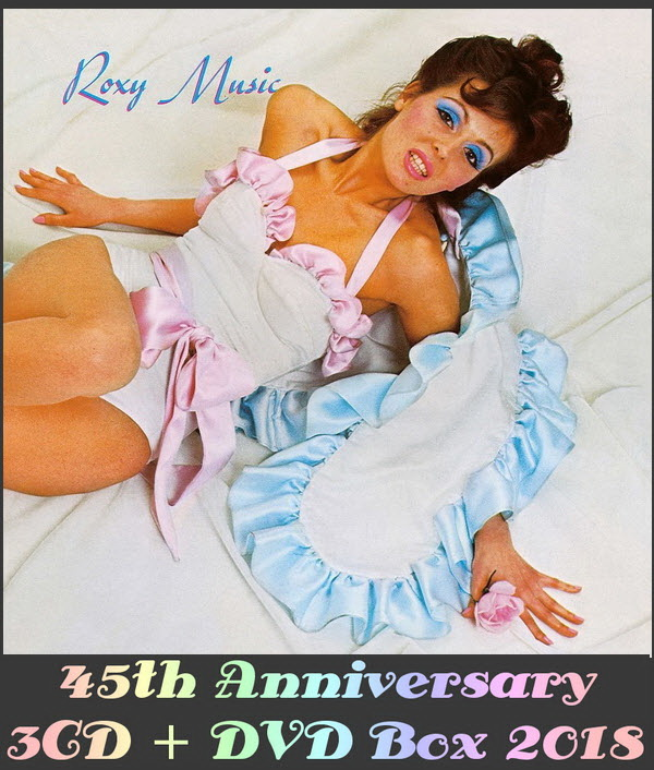 Roxy Music: 1972 Roxy Music - 3CD + DVD Box Set Universal Music 2018