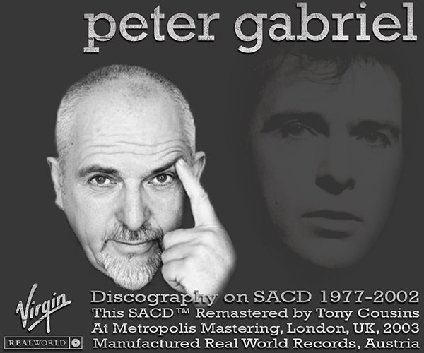 PETER GABRIEL «SACD Collection» (11 x SACD • Real World Records • Remaster 2003)