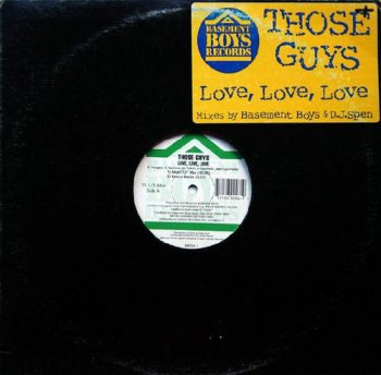 Those Guys - Love, Love, Love [Single] (1996)