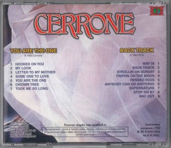 Cerrone - You Are The One & Back Track (1980 & 1982)