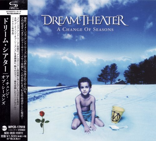 Dream Theater - A Change Of Seasons [Japanese Edition] (1995) [2017]