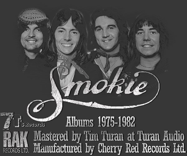 SMOKIE «Discography 1975-1982» (8 x CD • 7T's Records • Re-mastered 2007)