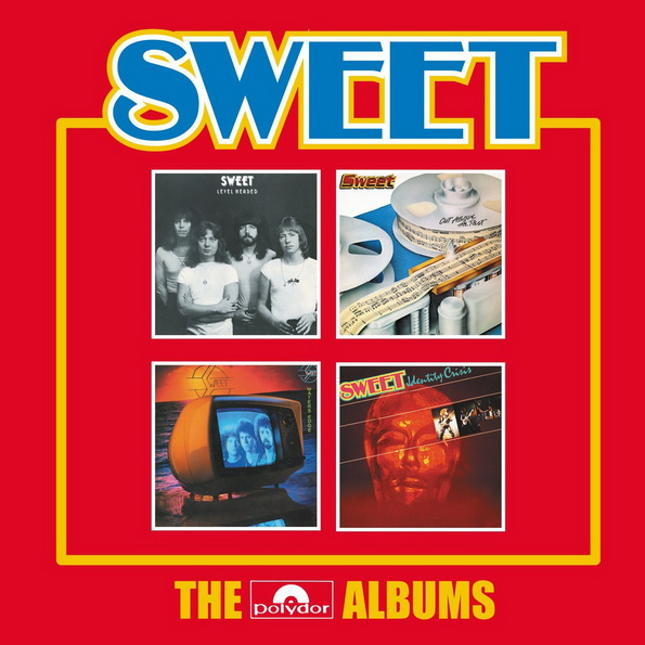 Sweet: 2017 The Polydor Albums - 4CD Box Set Caroline Records