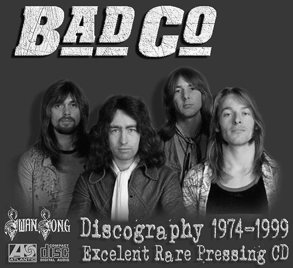 BAD COMPANY «Discography on CD» (17 x CD • Swan Song Inc. • Issue 1985-2011)