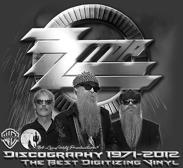 ZZ TOP «Discography on vinyl» (15 x LP • A Lone Wolf Production • 1971-2012)