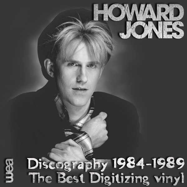 HOWARD JONES «Discography on vinyl» (5 x LP • WEA Record Ltd. • 1984-1989)