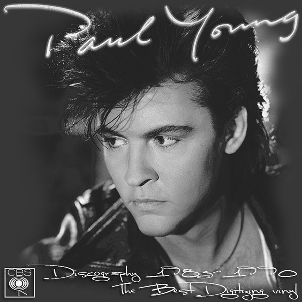 PAUL YOUNG «Discography on vinyl» (4 x LP • CBS Records Inc. • 1983-1990)