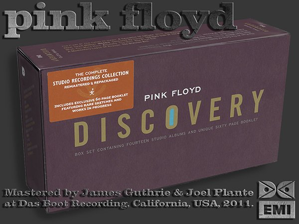PINK FLOYD ?Discovery Box? + bonus (US 17 x CD 2011 EMI Records Ltd. ? 50999 0 82613 2 8)