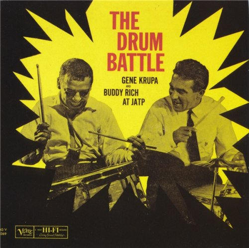 Gene Crupa and Buddy Rich - The Drum Battle At JATP (1952) [1999]