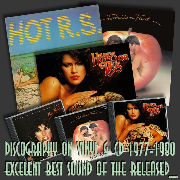HOT R.S. «Discography» (3 x LP + 3 x CD • R.P.M. Records Co. • 1977-1980)
