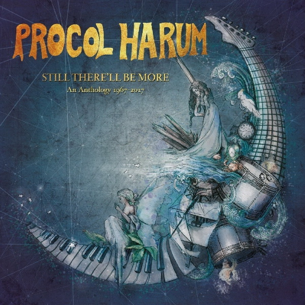 Procol Harum - 2018 Still There'll Be More: An Anthology 1967-2017 / 8-Disc Box Set Esoteric Recordings