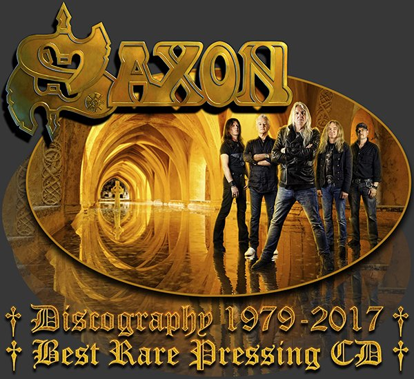 SAXON «Discography» (42 x CD • Best Rare Pressing • 1979-2017)