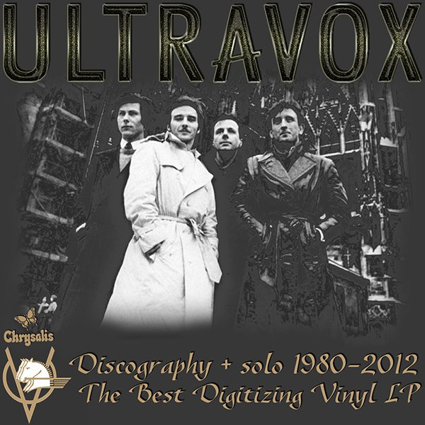 ULTRAVOX «Discography on vinyl + solo» (13 x LP • Chrysalis Records Limited • 1980-2012)