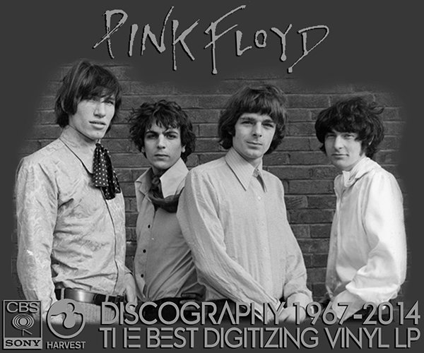 PINK FLOYD «Discography on vinyl» (37 x LP • 20 albums • Pink Floyd Music Limited • 1967-2014)