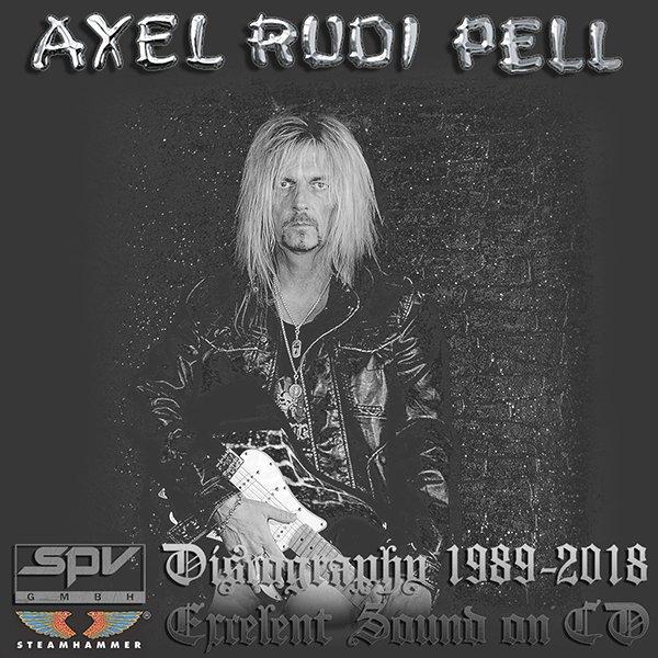 AXEL RUDI PELL ?Discography? (30 x CD ? SPV GmbH Limited ? 1989-2018)