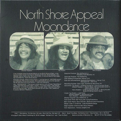 North Shore Appeal - Moondance (1977) [Remart. 2014]