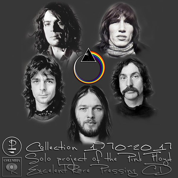 PINK FLOYD «Collection Solo albums» (27 x CD • Pink Floyd Music Ltd. • 1970-2017)