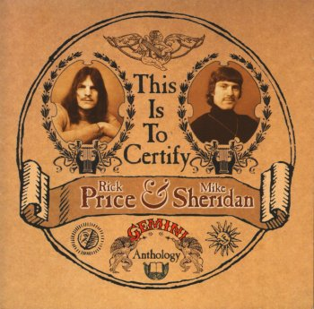 Rick Price And Mike Sheridan - This Is To Certify The Gemini Anthology [2 CD] (2004)