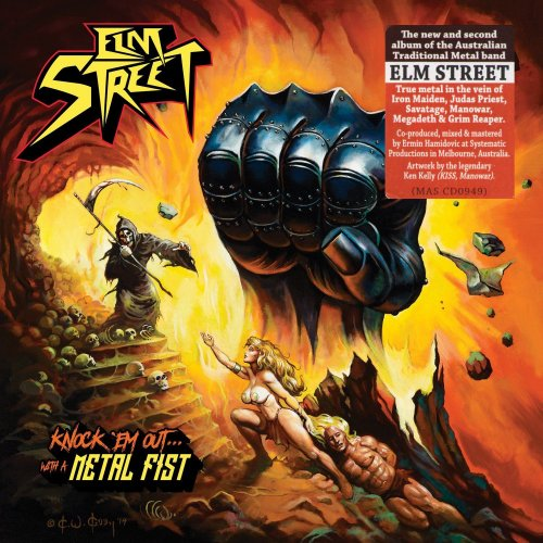 Elm Street - Knock 'Em Out... With A Metal Fist (2016)