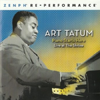 Art Tatum - Piano Starts Here: Live At The Shrine (2008) [SACD]
