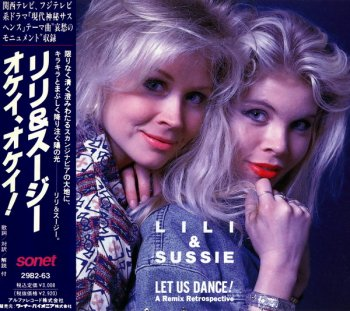 Lili & Sussie - Let Us Dance! A Remix Retrospective (1989) (Japan)