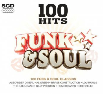 VA - 100 Hits Funk & Soul [5CD Box Set] (2013)