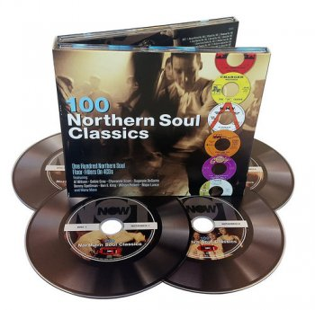 VA - 100 Northern Soul Classics [4CD Box Set] (2017)