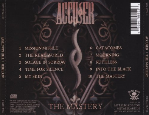 Accuser - The Mastery (2018)