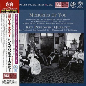 Ken Peplowski Quartet - Memories Of You (2005) [2014 SACD]