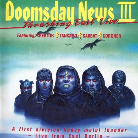 VA - Doomsday News III - Thrashing East Live (1990)