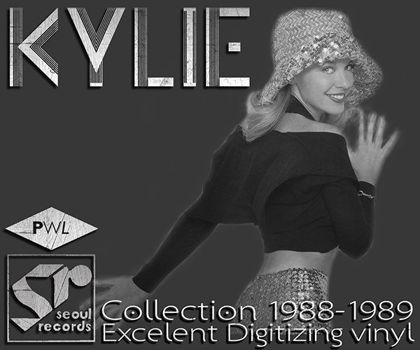 KYLIE MINOGUE «Discography on vinyl» (2 x LP • PWL Records Limited • 1988-1989)