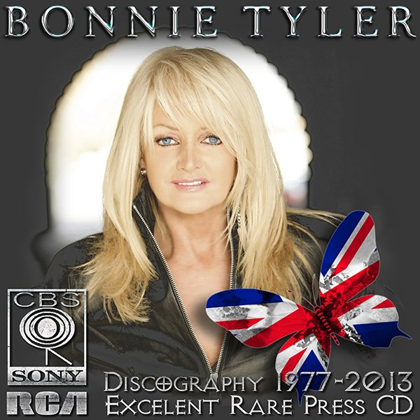 BONNIE TYLER «Discography» (28 x CD • RCA Limited • 1977-2013)