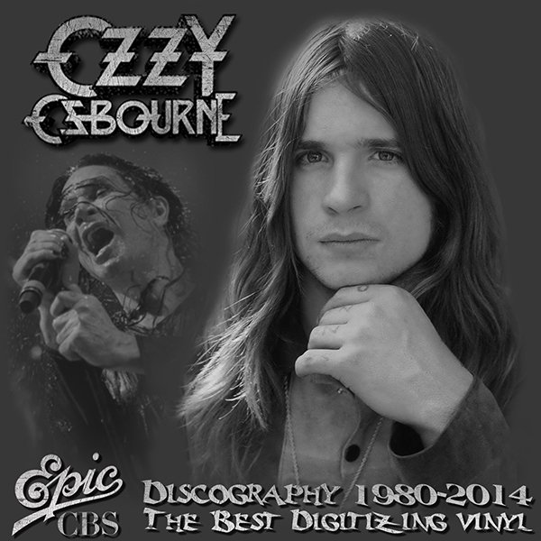OZZY OSBOURNE «Discography on vinyl» (14 x LP • Epic Records Limited • 1980-2014)