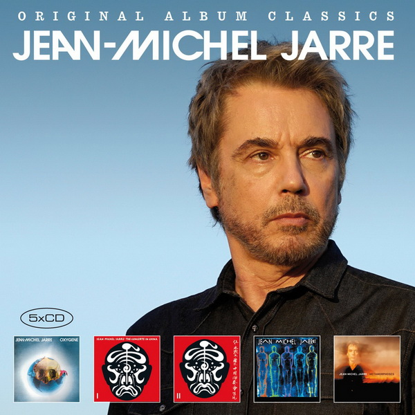 Jean-Michel Jarre: 2018 Original Album Classics 2 - 5CD Box Set Legacy Records