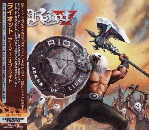 Riot V - Armor Of Light (2CD) [Japanese Edition] (2018)