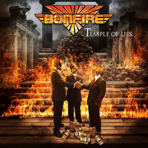 Bonfire - Temple Of Lies [Limited Edition] (2018)