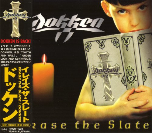 Dokken - Erase The Slate [Japanese Edition] (1999)