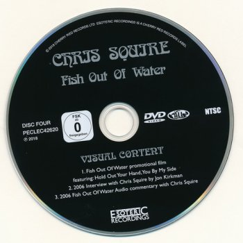 Chris Squire: 1975 Fish Out Of Water - 7-Disc Box Set Esoteric Records 2018