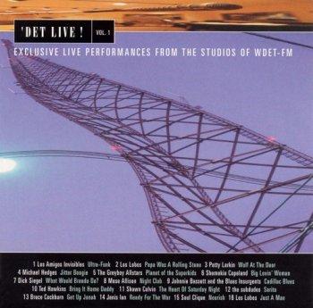 VA - DET Live! Vol. 1-3 Exclusive Live Performances from the Studios of WDET-FM (1999-2002)