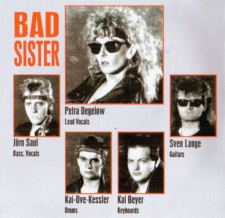 Bad Sister  - Heartbreaker (1989) [Reissue 2003]