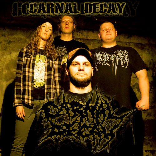 Carnal Decay - Discography (2003-2017)