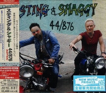 Sting & Shaggy - 44/876 (Japan Deluxe Edition) (2018)
