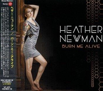 Heather Newman - Burn Me Alive (Japan Edition) (2018)