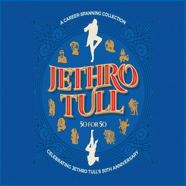 Jethro Tull: 2018 50 For 50 - 3CD Set Parlophone Records
