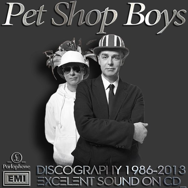 PET SHOP BOYS «Discography» (24 x CD • TOSHIBA-EMI Limited • 1986-2013)