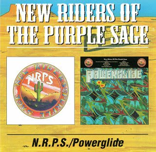 New Riders Of The Purple Sage - New Riders Of The Purple Sage / Powerglide [2 CD] (1971 / 1972)