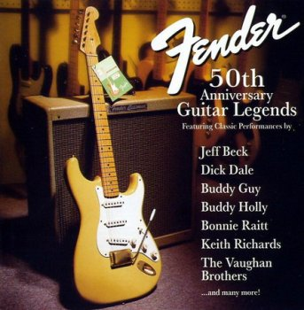 Various Artists  ‎? Fender 50th Anniversary Guitar Legends(Compilation)1996