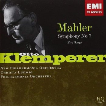 Otto Klemperer & New Philharmonic Orchestra - Mahler: Symphony No.7 & Five Songs [2CD Set] (2010)