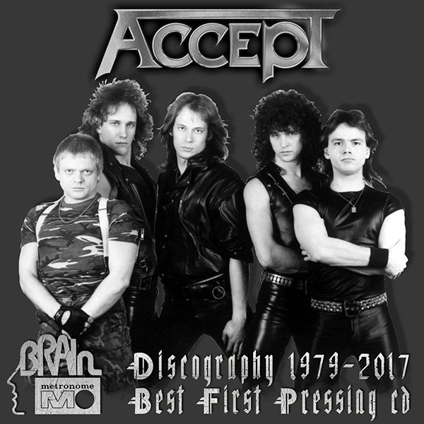 ACCEPT «Discography» (21 x CD • First Press • 1979-2017)